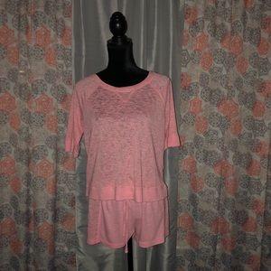 Victoria's Secret shirt & shorts loungewear set!